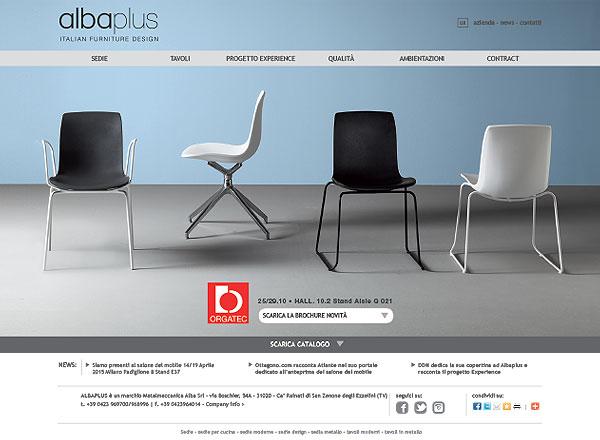 Agenzia marketing e comunicazione web marketing e web design - Sito web complementi arredo