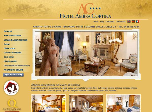 Agenzia pubblicitaria marketing comunicazione pubblicità - Sito web hotel