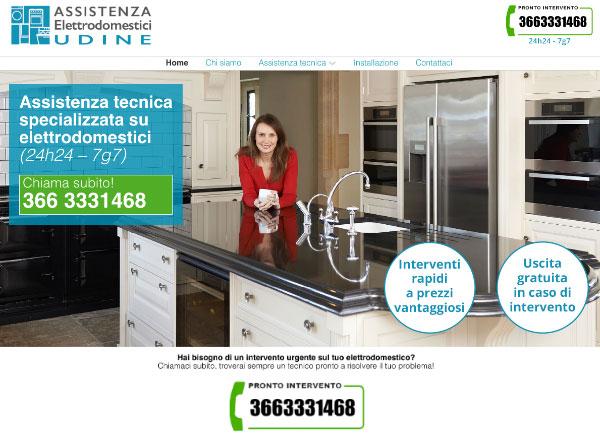 Agenzia marketing e comunicazione web marketing e web design - sito web assistenza elettrodomestici