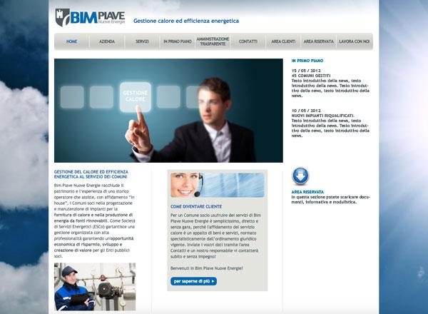 Agenzia marketing e comunicazione web marketing e web design - sito web settore energie alternative