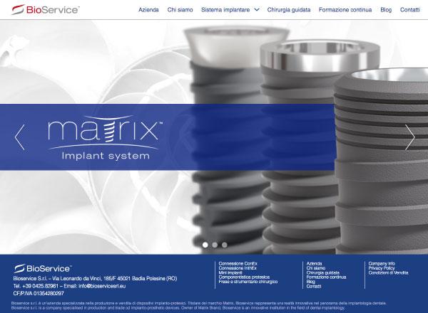 Agenzia di marketing e comunicazione web marketing e web design - sito web sistema implantare