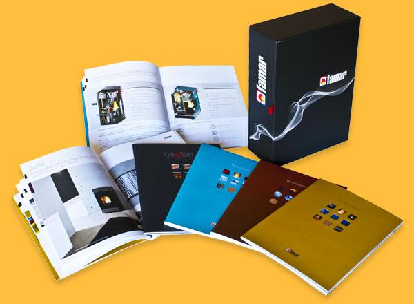 Agenzia marketing e comunicazione web marketing e web design - box e cataloghi caminetti e stufe
