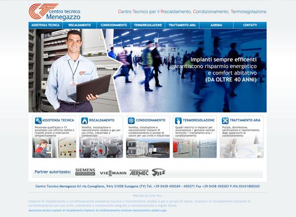 Web agency agenzia pubblicitaria marketing comunicazione pubblicità - Sito web settore impianti termosanitari