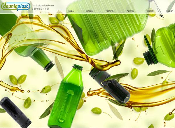 Agenzia di marketing e comunicazione web marketing e web design - sito web bottiglie e preforme in PET