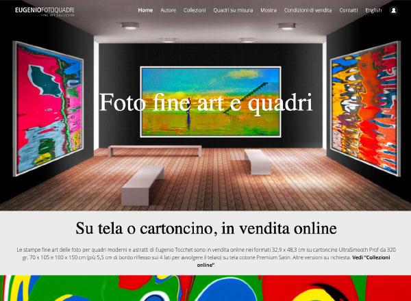 Agenzia di marketing e comunicazione web marketing e web design - Sito web ecommerce quadri arte