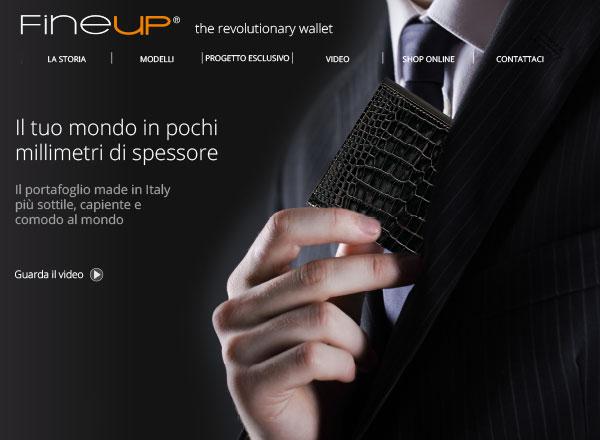 Agenzia di marketing e comunicazione web marketing e web design - comunicazione portafogli in pelle