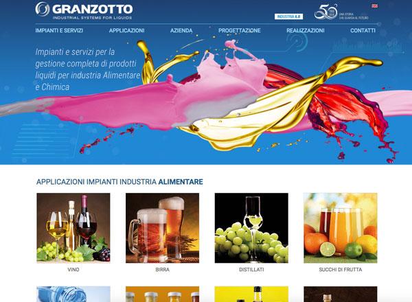 Agenzia di marketing e comunicazione web marketing e web design - Sito web settore impianti industriali