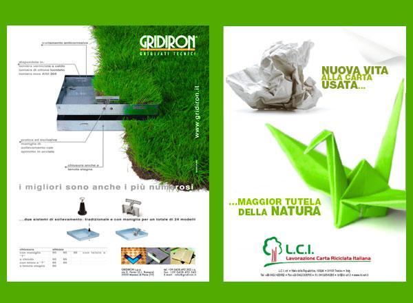 Agenzia pubblicitaria marketing comunicazione pubblicità - comunicazione componenti edilizia e riciclo carta