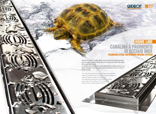 Agenzia di marketing e comunicazione web marketing e web design - Catalogo canali grigliati acciaio inox.