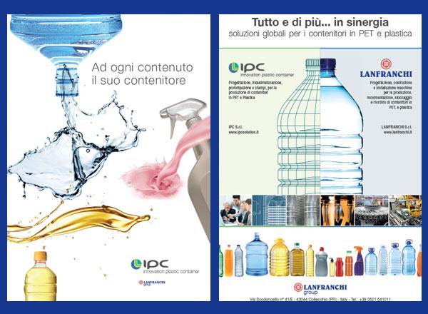 Agenzia marketing e comunicazione web marketing e web design - comunicazione bottiglie e soffiatrici PET