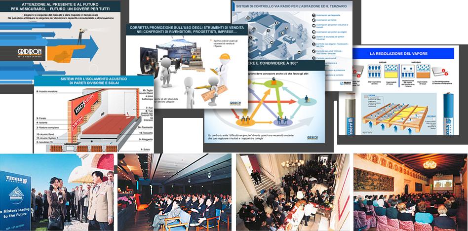 Presentazioni multimediali - Agenzia di marketing e comunicazione web marketing e web design Conegliano Treviso