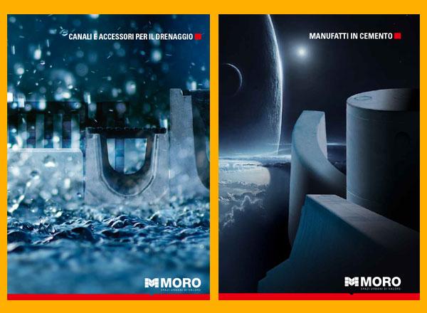 Agenzia pubblicitaria marketing comunicazione pubblicità - cataloghi sistemi di drenaggio e manufatti in cemento