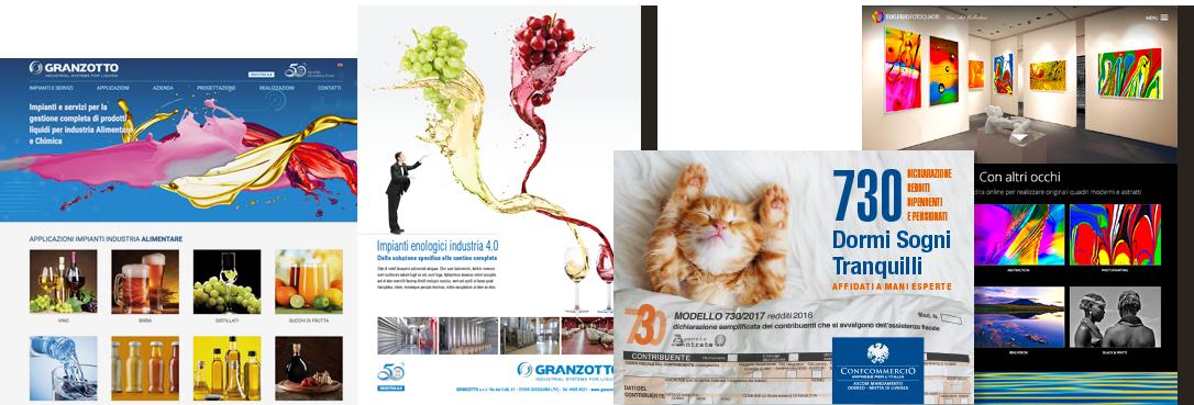 Servizi di comunicazione integrata - Agenzia di comunicazione e marketing web marketing e web design Conegliano Treviso