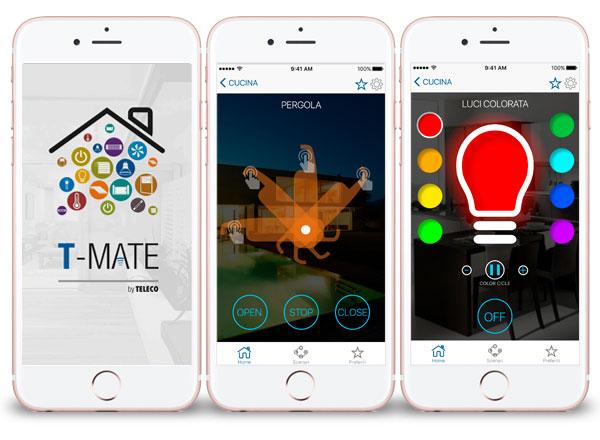 Agenzia di marketing e comunicazione web marketing e web design - APP smartphone per automazioni e domotica